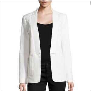 HALSTON Gorgeous off-white open blazer